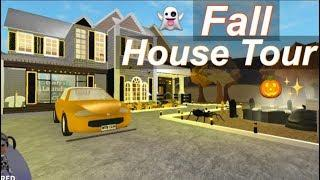 Roblox Bloxburg| Fall House Tour ♡