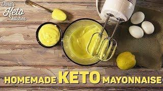 Keto Mayonnaise Recipe | How to Make Keto Mayo (Easy!) | With Printable Recipe!