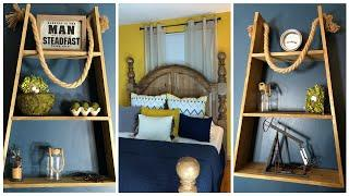 SMALL SPACE DECORATING| BEDROOM TRANSFORMATION | DIY COLLEGE BEDROOM MAKEOVER | START TO FINISH