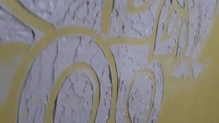 Mural art painting for walls...satysfying@@ How to Mural Art