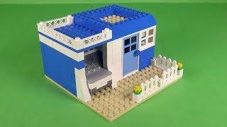 LEGO House with Garage (002) Building Instructions - LEGO Basic Bricks How To Build