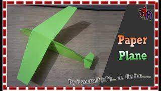 How to make paper plane by Art House | Paper plane DIY |  Easy Paper plan Tutorial