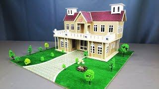 How To Make A Beautiful Mansion House From Cardboard (Step by Step) - Dream House