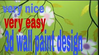 very easy wall paint by Nazim