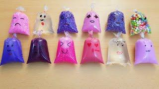 Making Slime With Bags #4   Slime Sister