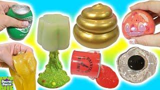 Cutting Open Golden Squishy ! Can I Make Slime From a Squishy!? Doctor Squish ✿◕ ‿ ◕✿ 2018 HD