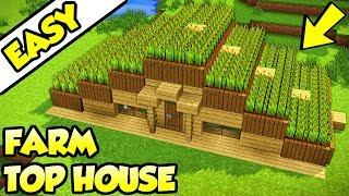 Minecraft All In One Survival House Tutorial How To Build Design Ideas Tour
