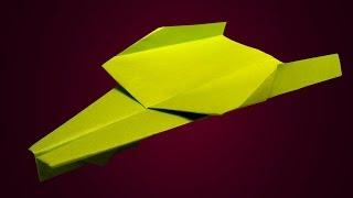 Simple paper jet plane - Paper airplane that flies far and straight - Cool paper planes