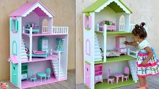 DIY Miniature Dollhouse Making !!! Best Out Of Waste Box || DIY Project