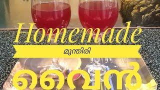 രണ്ടാഴ്ച്ച കൊണ്ട് അടിപൊളി മുന്തിരി വൈൻ വീട്ടിലുണ്ടാക്കാം // Homemade Grapes Wine // COOK with SOPHY