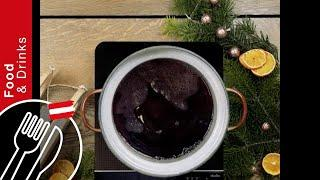 Advent recipe from Austria: Punch with red wine, oranges, cinnamon and cloves