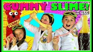 DIY Edible Slime Candy!! *MAKE SLIME YOU CAN EAT* How To Make The BEST GUMMY Slime!