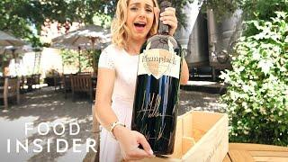How to Make l Giant Wine Bottle Can Fill 48 Glasses Of Wine