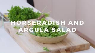The Best Salad to Serve with a Steak: Horseradish and Arugula Salad