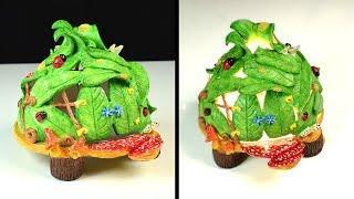 ♡ DIY Fairy House Leaves | Fairy Garden House | DIY Air Dry Clay Tutorial ♡