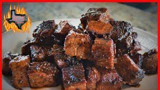 Barbecue Brisket Burnt Ends | Pairing Texas Wine And Barbecue