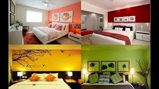Bedroom Color Ideas | 100 Best Painting Colour Combination For Bedroom Walls 2019