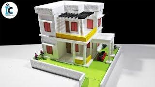 How To Make A Dream House From Thermocol DIY Thermocol Mansion