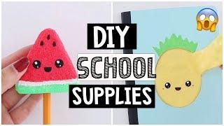 DIY SLIME & SQUISHY SCHOOL SUPPLIES For Back To School 2018!
