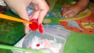 របៀបធ្វើស្លែម/how to make slime no borax no baking soda