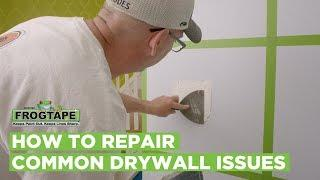 How to Repair Common Drywall Issues