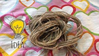 Best out of waste rope crafts ideas.DIY rope crafts.Rope decorating ideas.