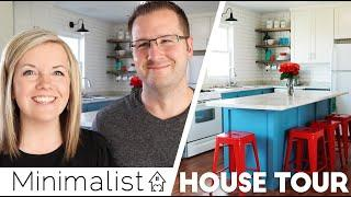"????New: Minimalist Family HOUSE TOUR ???? ""Don't make us look WEIRD!""????(Family Minimalism 2019)"
