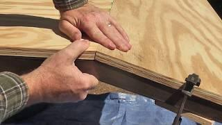 Finish the Frame - Cutting Ply (Outdoor Climbing Wall) - Part 3