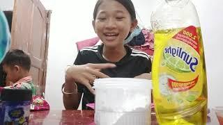 How to make slime no glue part 1