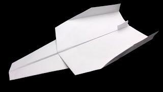 How to make a super jet paper airplane that flies far easy   Origami jet airplane easy   Slient