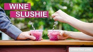 Wine Slushie Recipe - Dessert For Two - Season 2, Episode 13