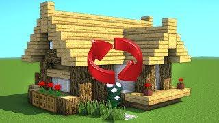 MINECRAFT STARTER HOUSE TUTORIAL! How to Build a Small House in Minecraft ! 2018