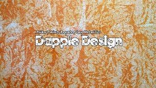 Asian Paints Royale Play Metallics Dapple Wall Design    Interior Design
