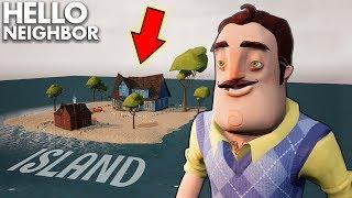 The Neighbor BOUGHT HIS OWN ISLAND!!! | Hello Neighbor Gameplay (Mods)