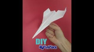 Long Distance Paper Airplane - DIY Easy Tutorial