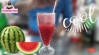Watermelon splitzer mocktail || easy to make || the mocktail house
