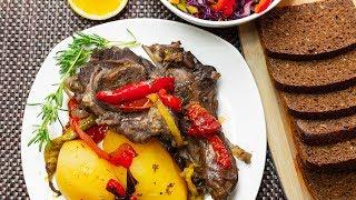 How to Make Lamb Stew with Red Wine and Vegetables