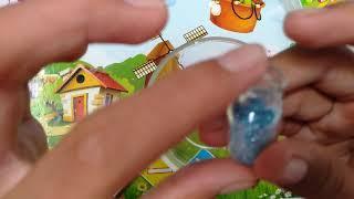 របៀបធ្វើស្លែមជាមួយភ្លេកៗពណ៌ខៀវ/How to make slime color blue