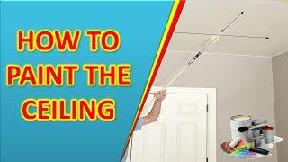 Industrial coating, How To Paint the Ceiling, house painting