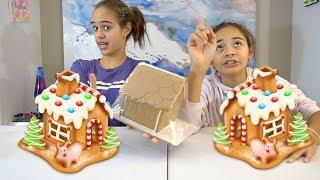 GINGERBREAD HOUSE DECORATING CHALLENGE!