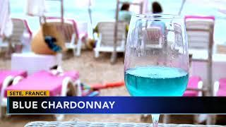 Blue wine is making a splash in southern France