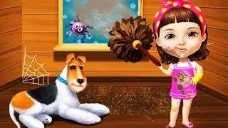 Fun Pet Care Kids Game - Sweet Baby Girl Cleanup 5 - Messy House Makeover Cleaning  Games For Girls