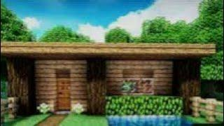 MineCraft: Tutorial How to make a Simple house for Survival Android/IOS  (Easy)