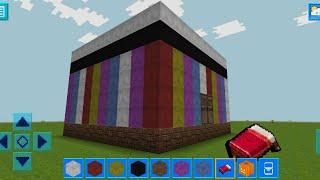 AdventureCraft 3D Block Building & Survival Craft Gameplay #47(Android) | Color House