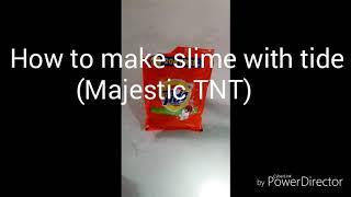 How to make slime with tide