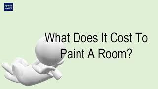 What Does It Cost To Paint A Room?
