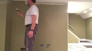 How to Paint a interior wall