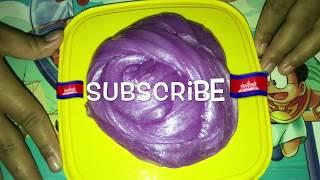 how to make glossy slime no glue easy for kids, by peypey ly