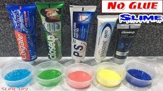 Testing 5 Ways To Make Slime From Toothpaste And Salt, No Glue, No Borax! No Fail