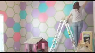 Girls Room Renovation!,,LATEST TREND...